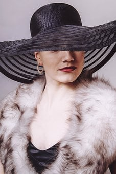 Lady, Hat, Woman, Face, Person, Human, Smiling, Fashion