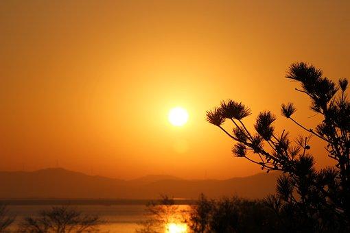 In The New Year, Sunrise, Sea, Solar