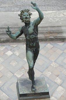 Pompeii, Italy, Antiquity, Statue, Sculpture
