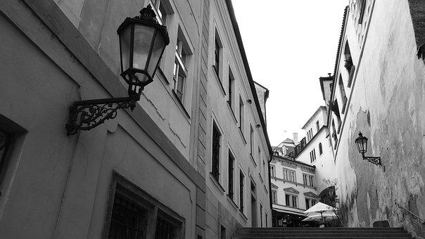 Prague Street, Prague, The Streets Of Prague