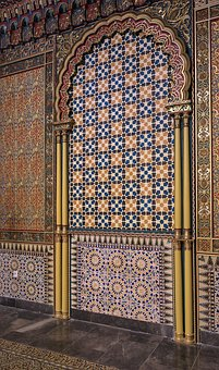 Wall, Ornament On The Wall, Decoration, Style Arabesque
