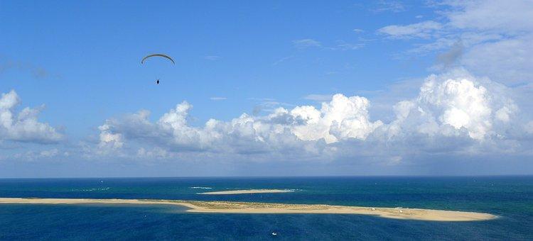 Atlantic Ocean, France, Dune, Pyla, Pilat, Coast