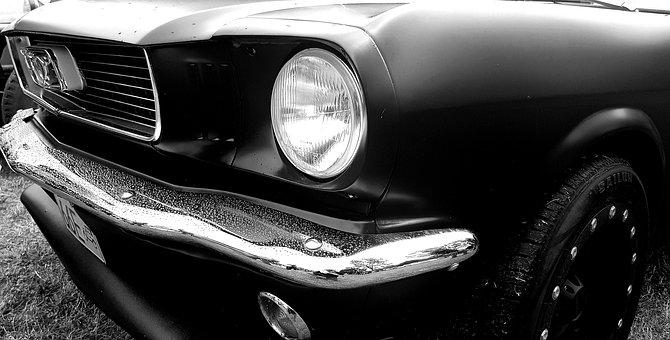 Mustang, Classic, Ford, Auto, Car, Sports, Mask