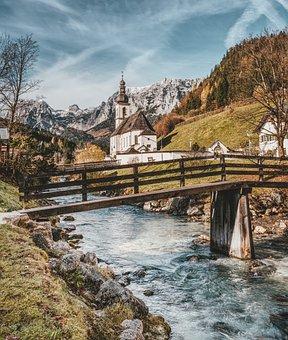 Ramsau, Sankt Sebastian, Berchtesgaden, Alpine