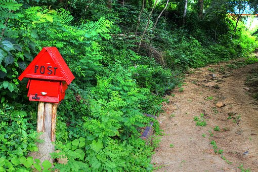 Country, Gil, Mailbox, Scenery, Nature, Wood, Landscape