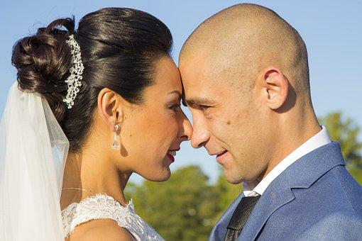 Wedding, Bride, Couple, Love, Marriage, Wife