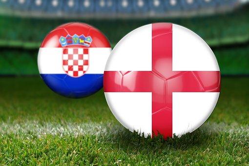 Semifinals, World Cup 2018, Russia, Croatia, England
