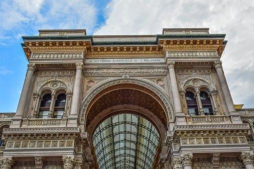 Architecture, Building, City, Dome, Geometric, Sky