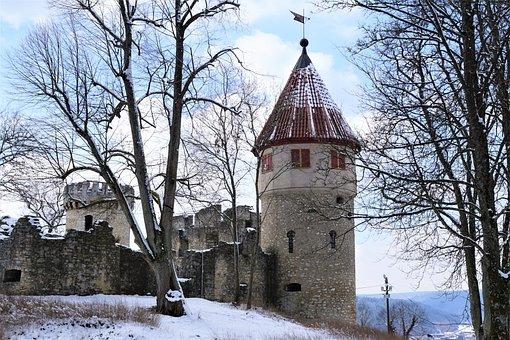 Honing Mountain, Honing Castle, Tuttlingen, Germany
