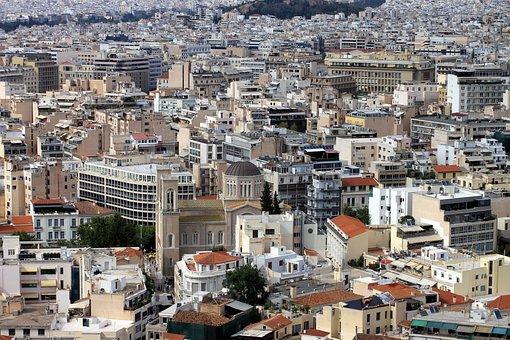 Athens, Greece, City, Landscape, Travel, Architecture