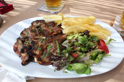 Grill, Lamb, Nutrition, Lunch, Restaurant, Meat