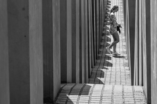 Berlin, Holocaust, Memorial, Woman, Architecture