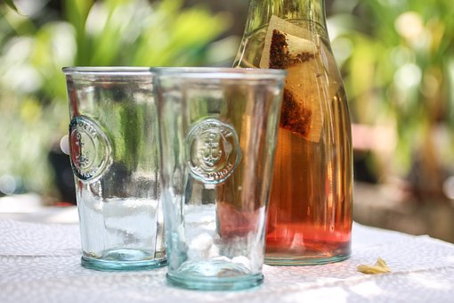 Hot Weather, Drink, Heat, Summer, Garden, Party, Glass