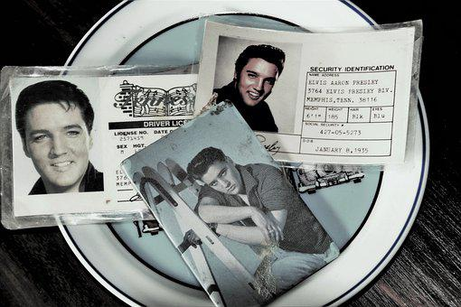 Idol, Elvis Presley, Id, Collection, Old, Genuine