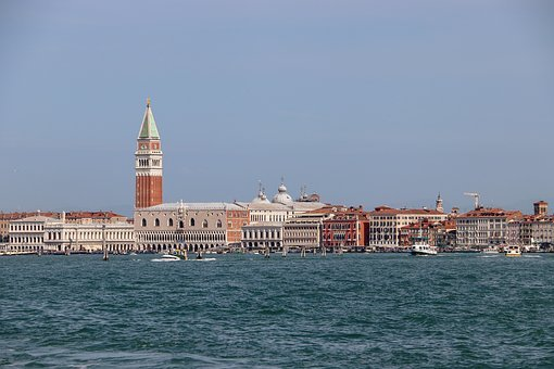 Venice, Arrival, Italy, Landmark, Architecture, City