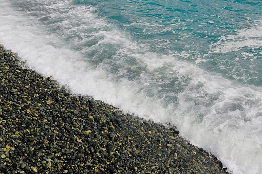 Sea, Travel, Gravel, Summer, Water, Landscape, Break