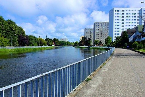 Kołobrzeg, The River Parseta, Landscape