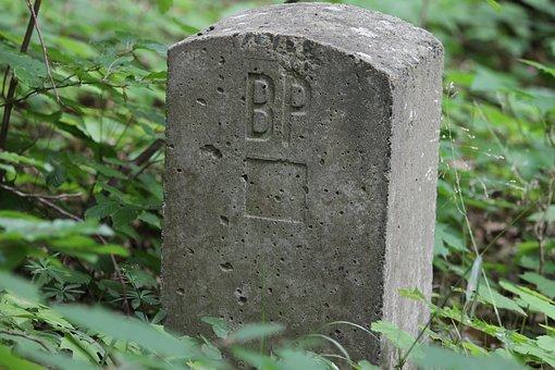 Landmark, Mark, Stone, Border, Forest, Parcel Boundary