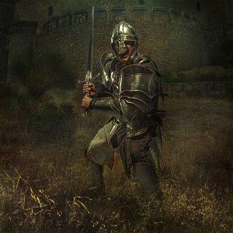 Knight, Castle, Middle Ages, Old, Masonry, Fortress