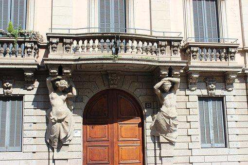 Milano, Milan, Architecture, Sculpture, Building