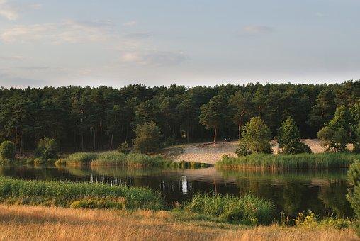 Water, Landscape, Figure, Lake, River, Nature, Sky
