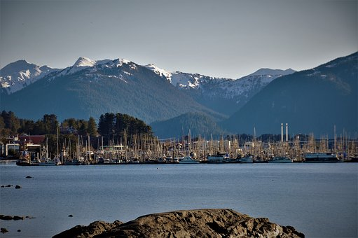 Thompson Harbor, Sitka, Alaska, Coast, Ocean, Nature