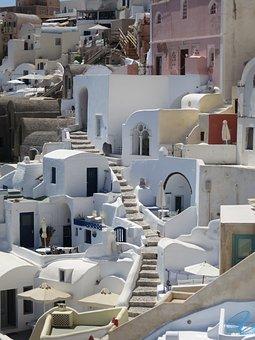 Oia, Santorini, Greece, Architecture, Island, Travel