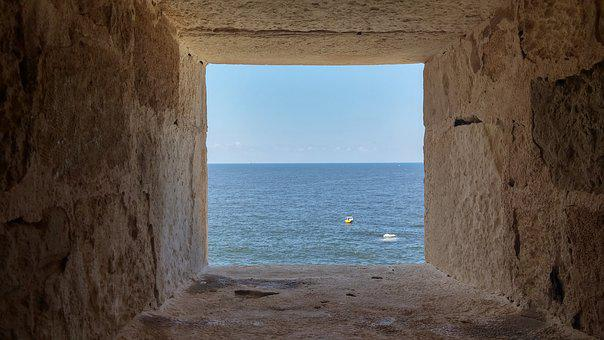 Sea, Alexandria, Old, Ancient, Egypt, Summer, Water