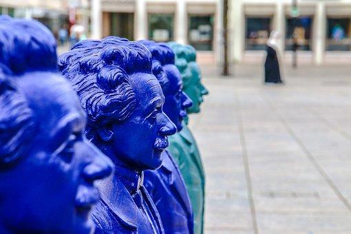 Albert Einstein, Ulm, Sculpture, Exhibition, Physicist