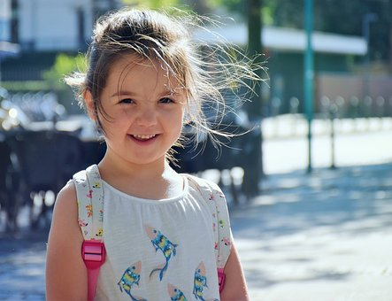 Kid, Girl, Child, Cute, Happy, Summer, People, Portrait
