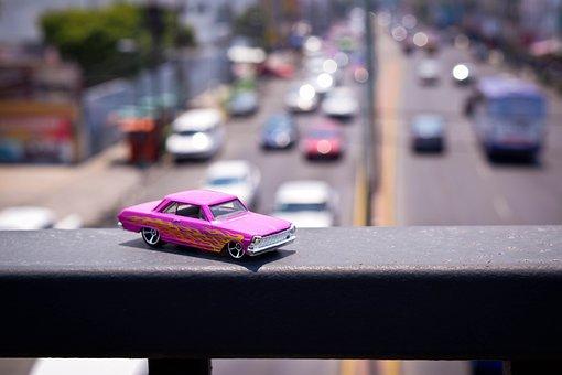 Automobile, Urban, Bridge, Transport, Vehicle, City