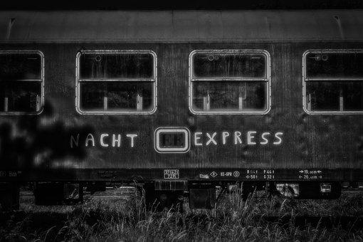Wagon, Train, Travel, Sleeping Car, Railway, Express
