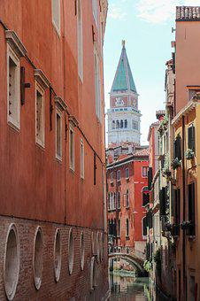 Streets, Venice, Architecture, Building, Old, Home