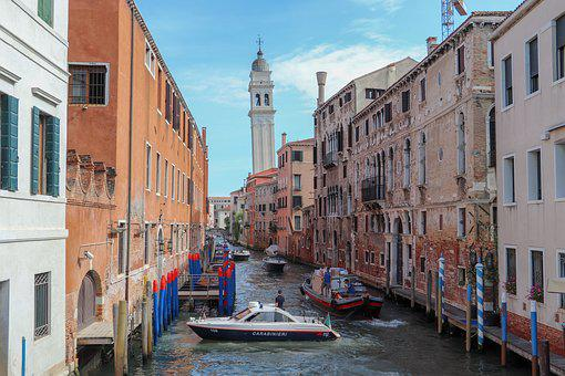 Venice, Holiday, Italy, Channel, Water, City, Tourism