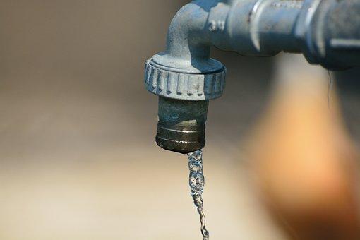 Water, Faucet, Tube