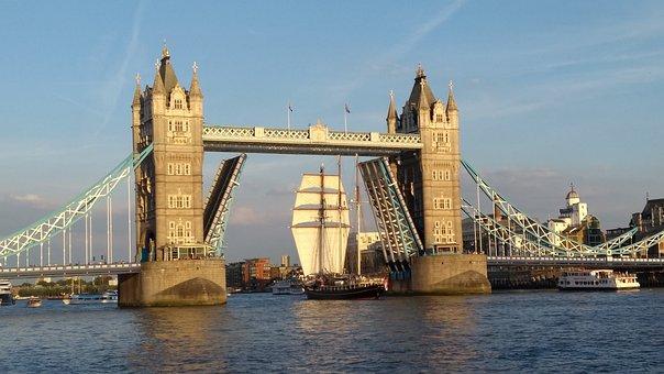 Bridge, Travel, Water, Architecture, River, City, Tower