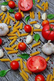 Vegetables, Tomatoes, Pepper, Red, Wood, Mood, Healthy