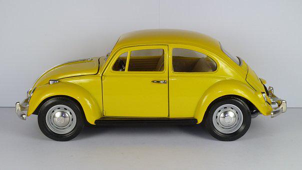 Vw Beetle, Vw Käfer, 1967, 1x18, Model Car, Road Tough