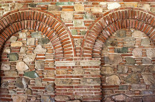 Wall, Stones, Arch, Background, Structure, Texture, Old