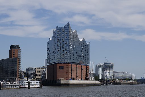 Hamburg, Elbe Philharmonic Hall, Elbe, Architecture