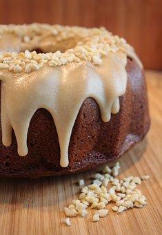 Cake, Sponge Cake, Caramel, Eat, Bake, Baked, Delicious