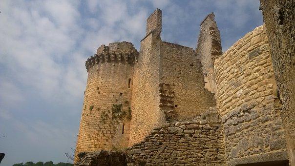 Castle, France, Chateau, Architecture, Medieval
