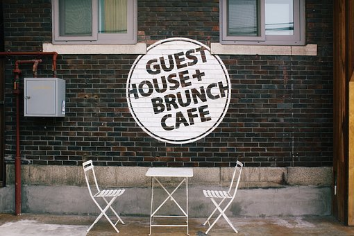 Guesthouse, Cafe, Shelter, Outdoor, Break, Chair, Round