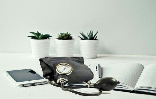 Blood Pressure, Clinic, Desktop, Work, Care, Check