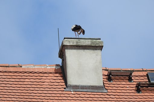 The Roof Of The, Chimney, The Stork Nest
