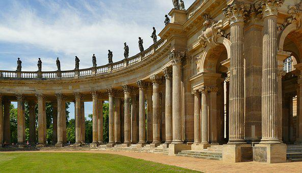 Colonnade, Gang, Columnar, Architecture, Building