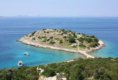 Island, Sea, Croatia, Dalmatia, Summer, Holiday