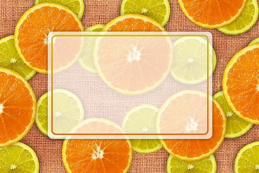 Oranges, Lemons, List, Note, Label, Discs, Fruit
