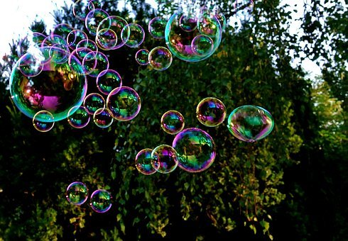 Soap Bubbles, Colorful, Fly, Make Soap Bubbles