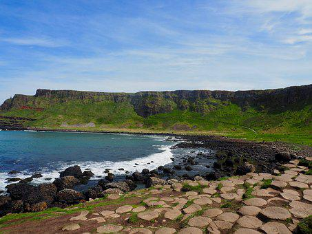 Giants Causeway, Ireland, Nature, Landscape, Travel